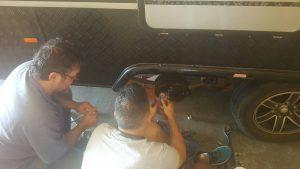 Reliable caravan servicing