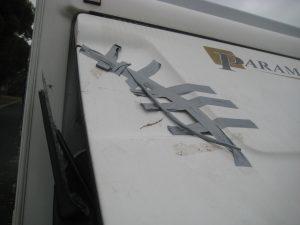 caravan repair insurance claim