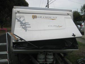 caravan insurance repair process