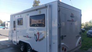 insurance repairs fixed caravan