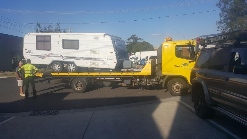 We'll tow your caravan