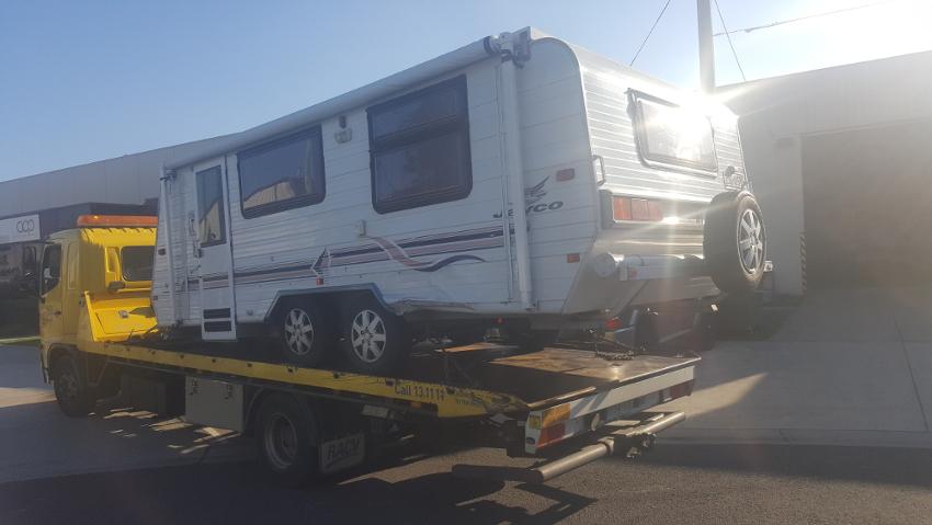 caravan repairs insurance claim
