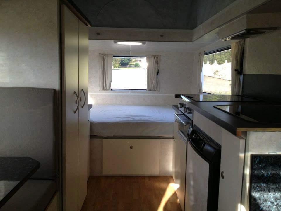 interior caravan renovation