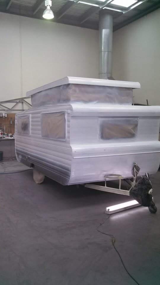 professional caravan renovation