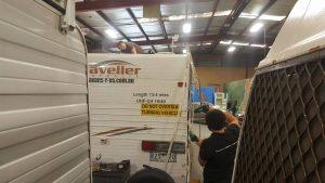 Ace Caravan repairs job