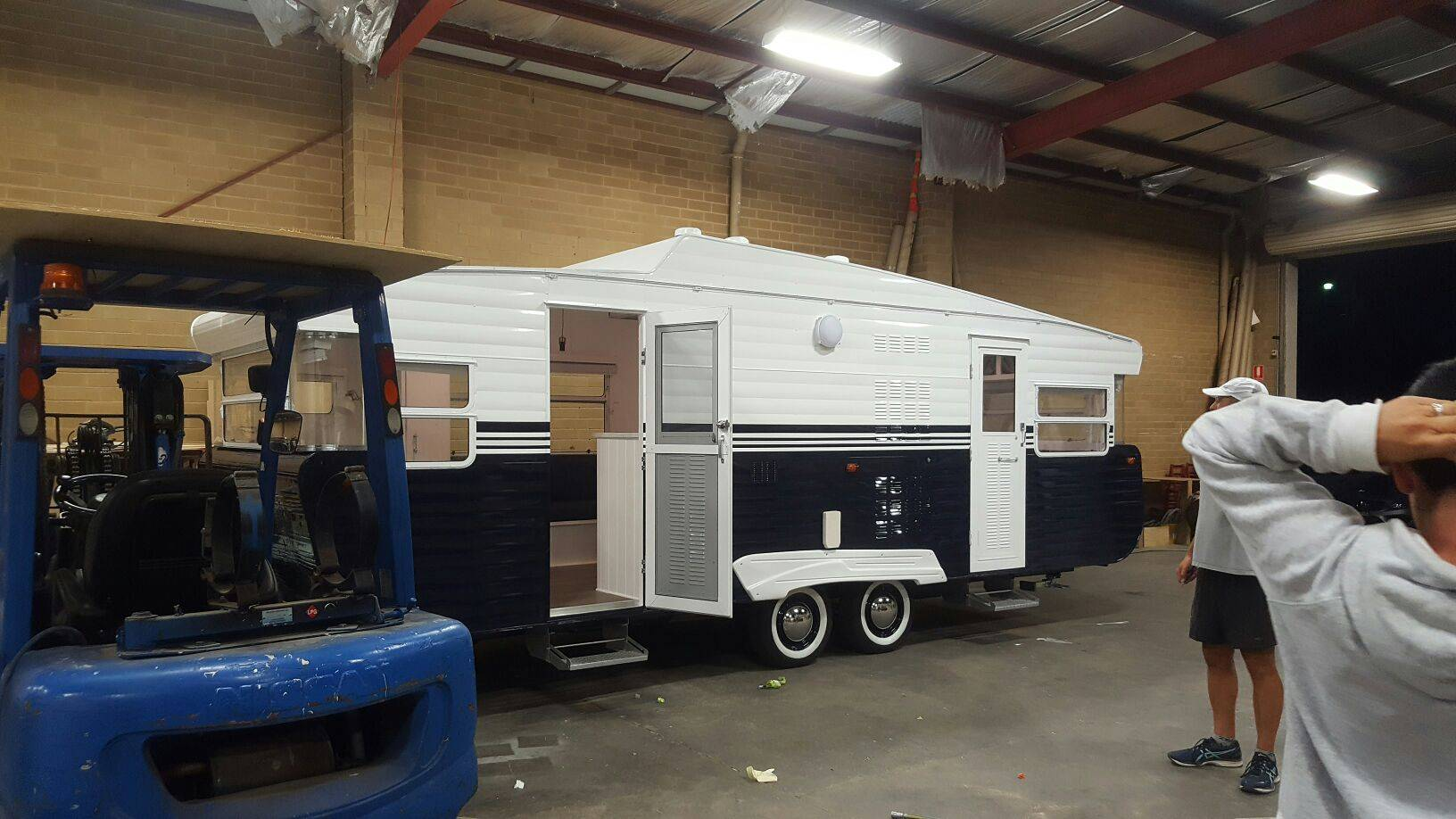 Melbourne caravan rebuild Ace Caravan repairs