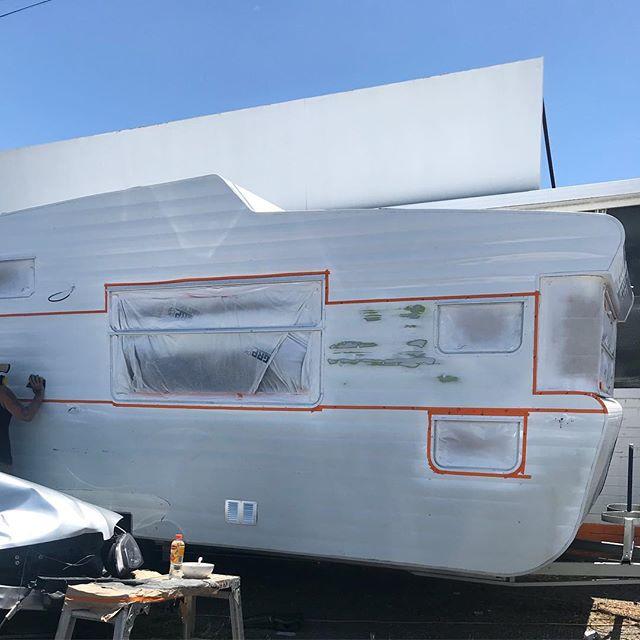 New window installation caravans