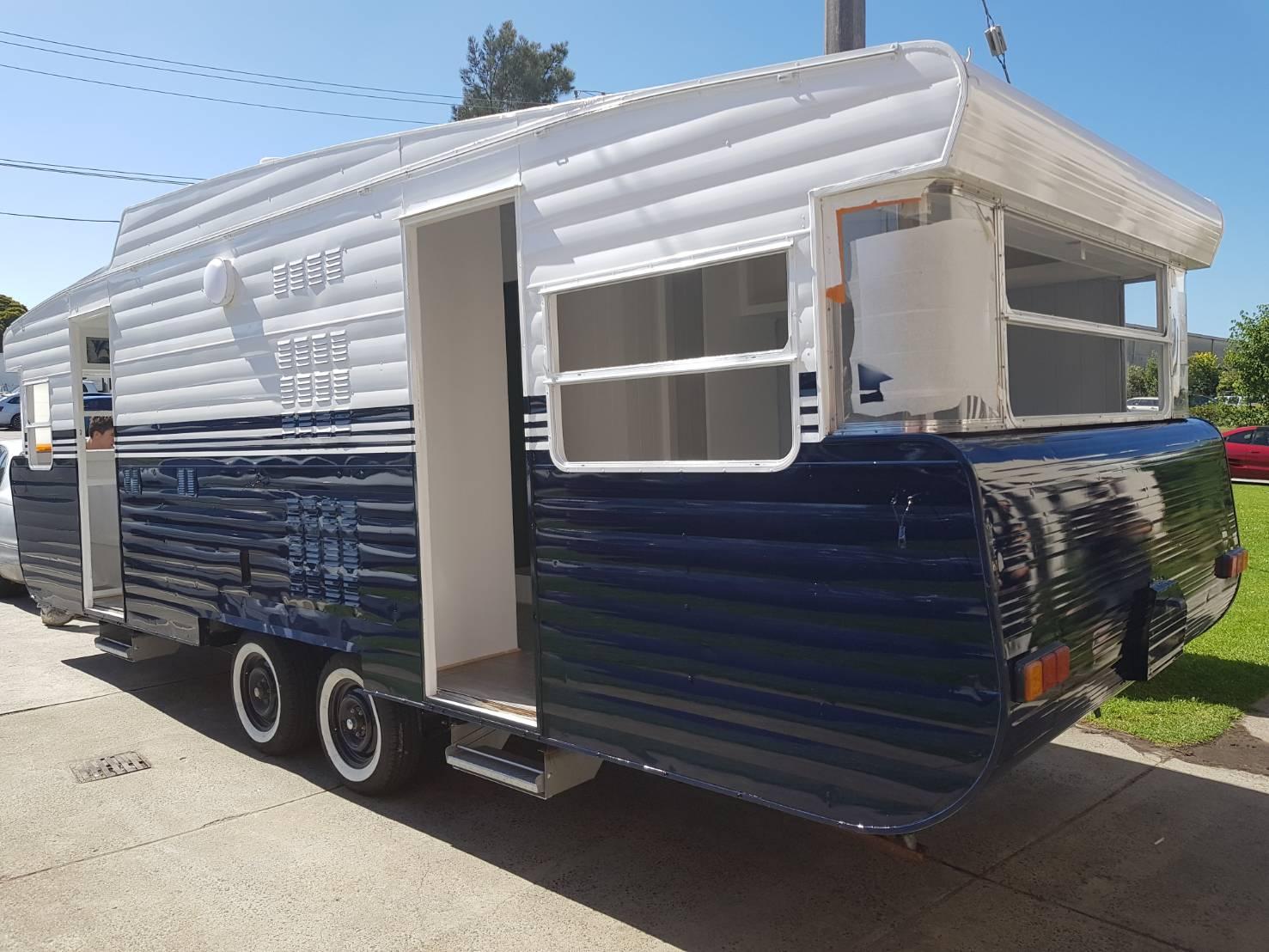 Caravan refurbishment