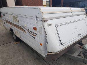 Campervan structural repairs