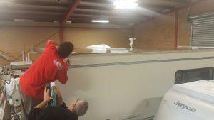 Motorhome and RV roof repairs