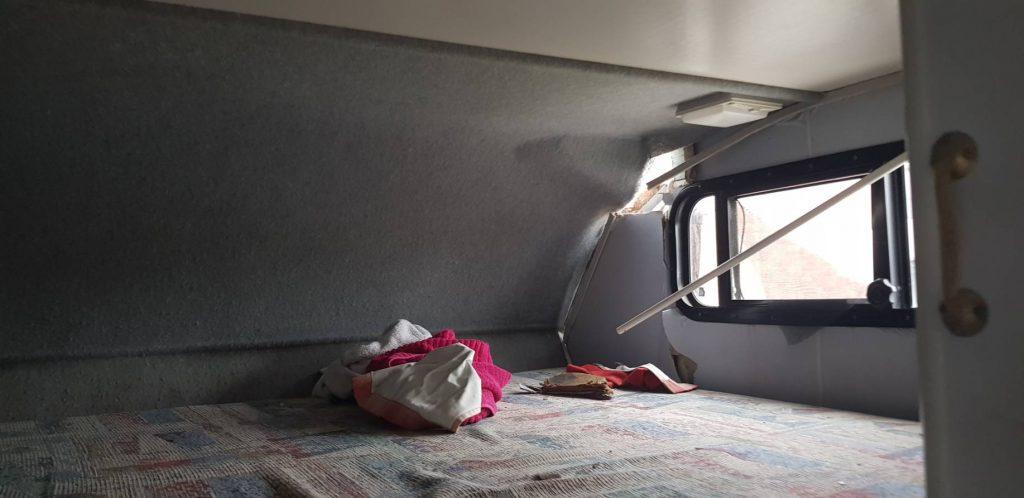 interior damage Winnebago