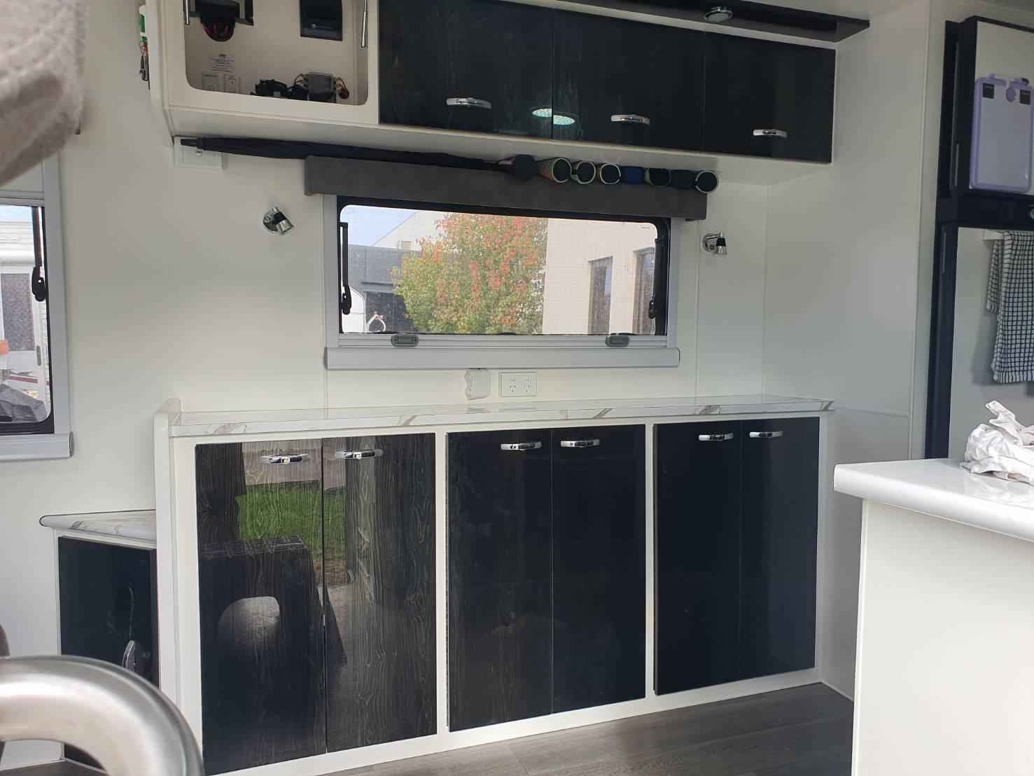 Caravan renovations - impressive result
