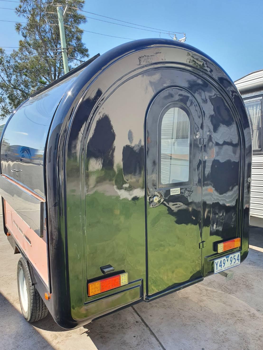 Food van all shiny and ready to impress